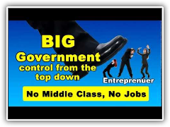Big Government destroying American Middle Class